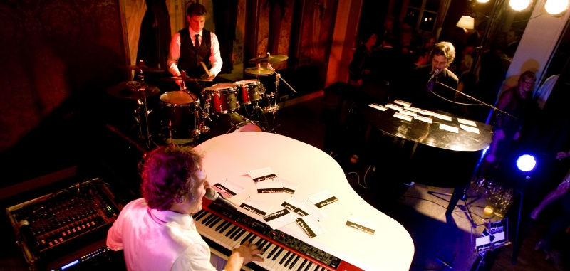 Pumpin Pianos, dé swingende band voor jouw trouwfeest!